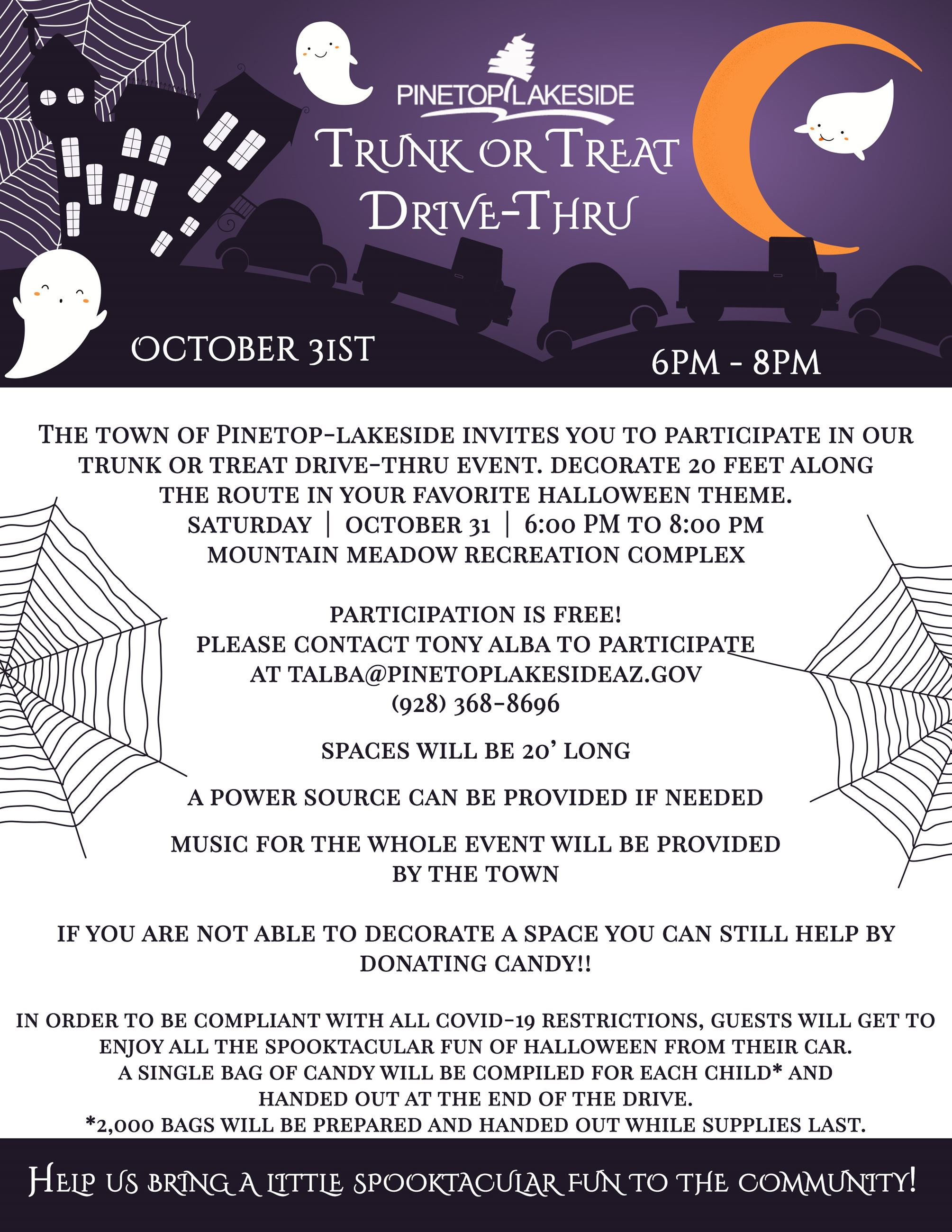 PL Trunk or Treat Drive Thru