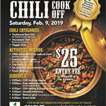 Chili Cook Off Flyer