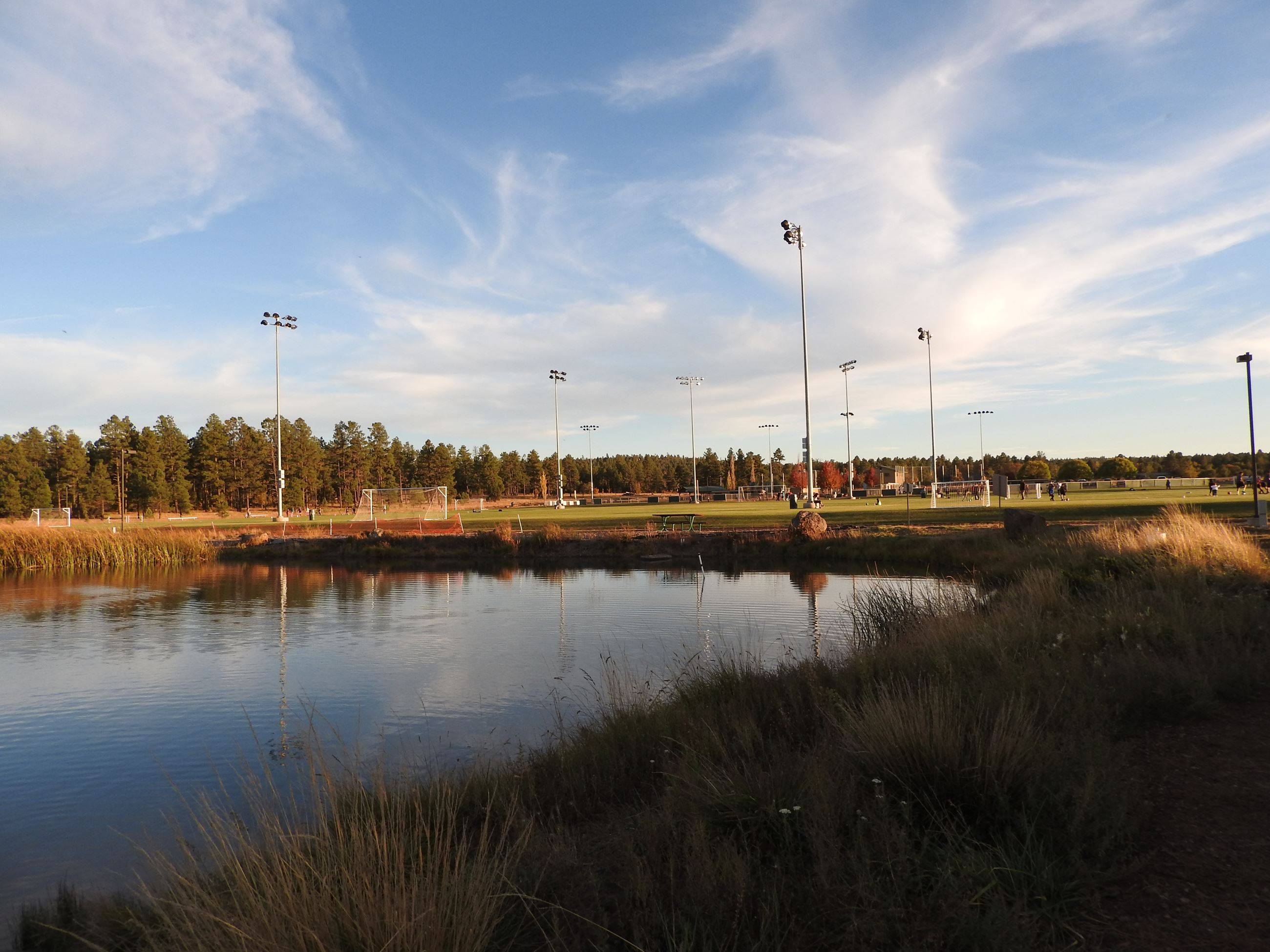 Mountain Meadow Recreation Complex Soccer Field photo by Judi Bassett