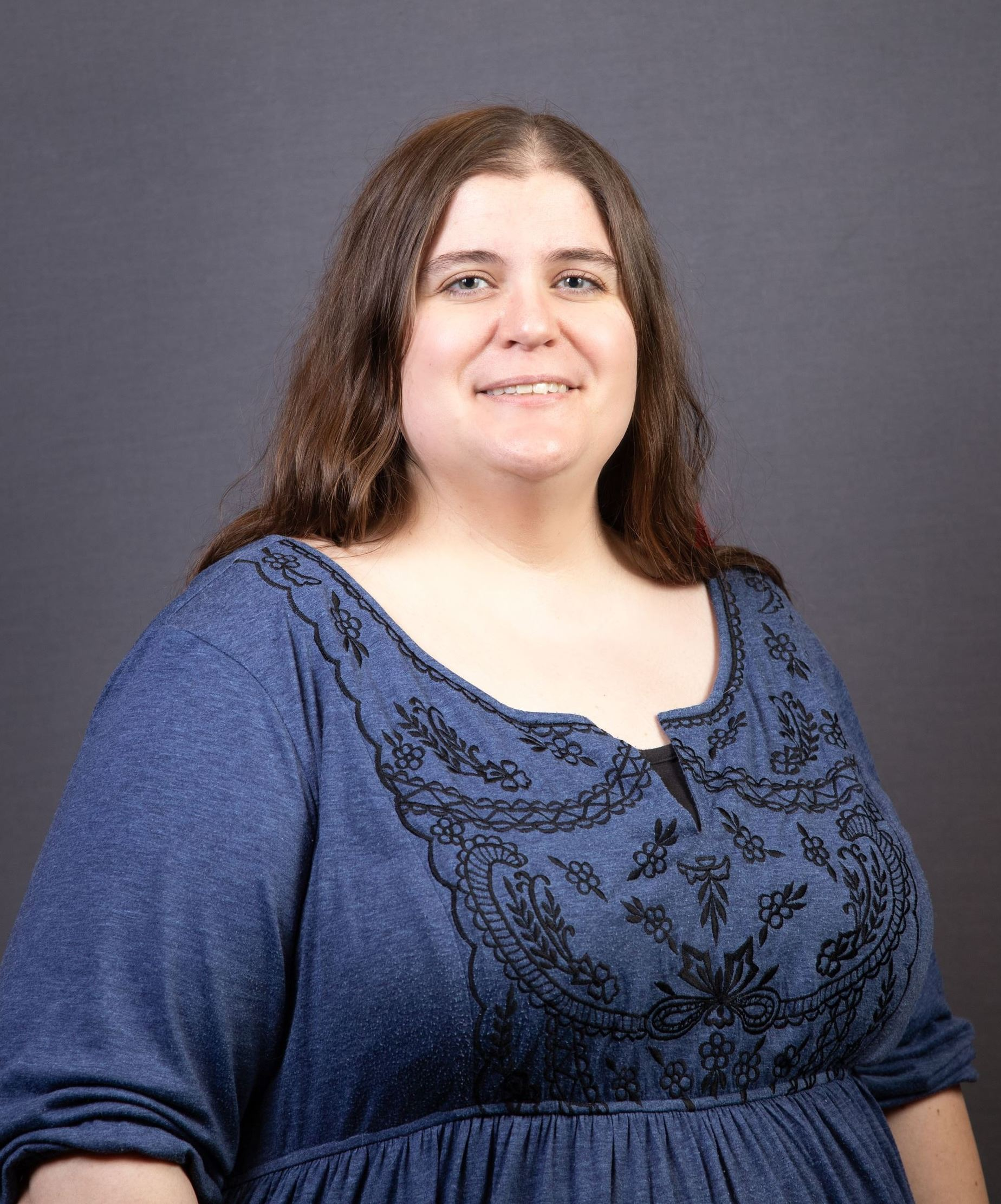 Photo of Library Manager Kendra Abel (JPG)